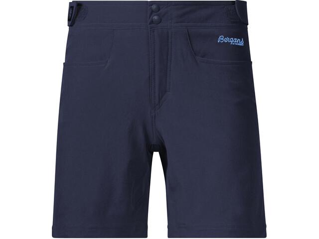 Bergans Cecilie - Pantalones cortos Mujer - azul